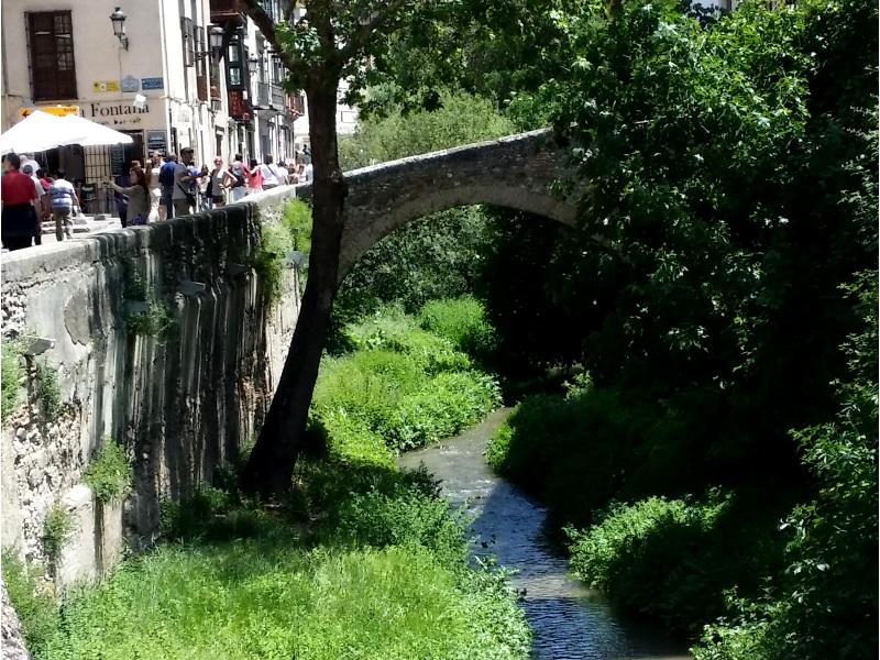 Streets: Carrera del Darro, Granada
