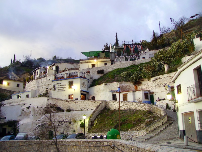 Neighbourhood of Sacromonte, Granada