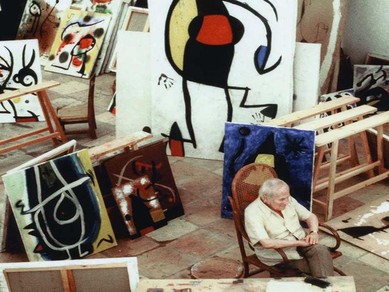 Jean Marie del Moral. Entre artistas