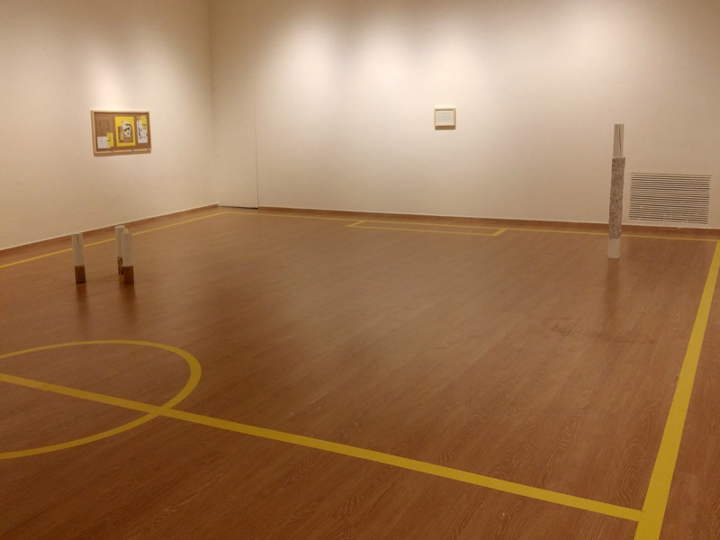Exposición de señales amarillas. Manuel Senén